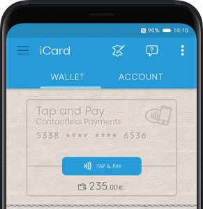 iCard digital wallet tam and pay