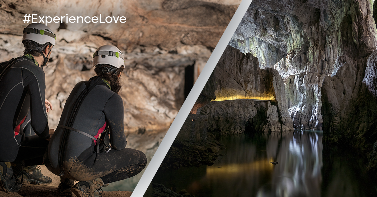 "#ExperienceLove - Survive together inside the ""Belly of the beast"" in Slovenia"