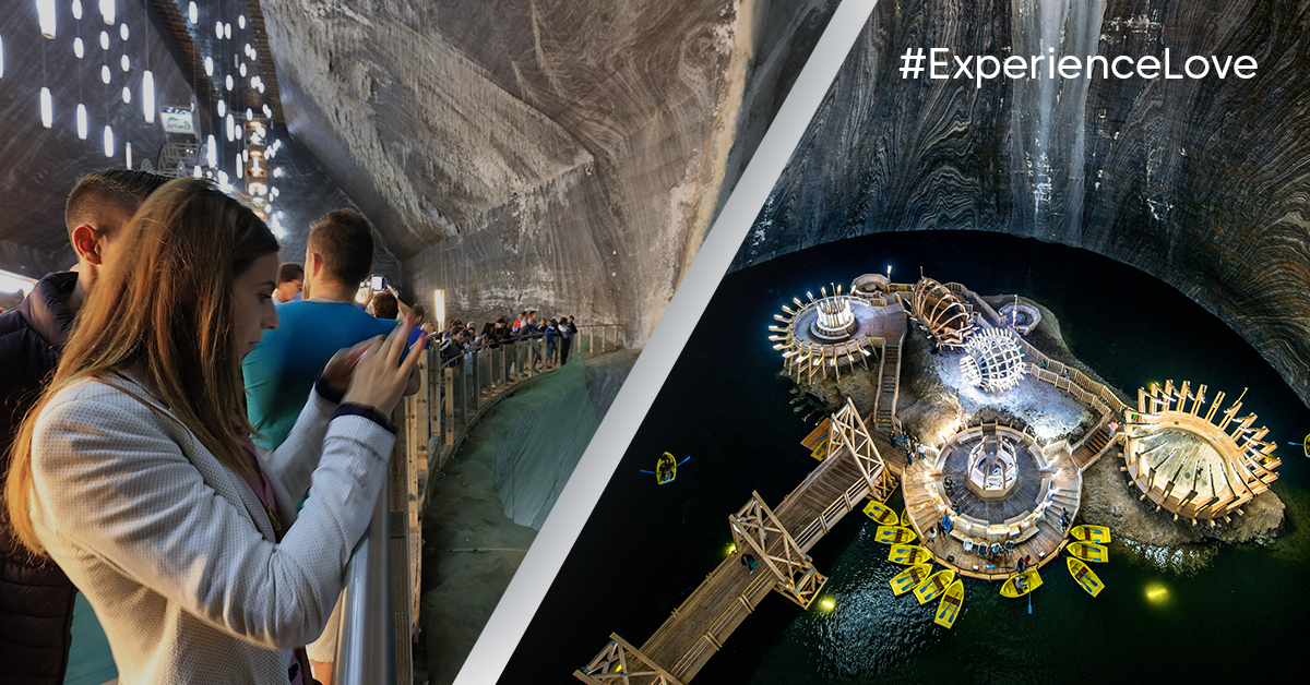 #ExperienceLove - Have fun in аn underground amusement park in Romania