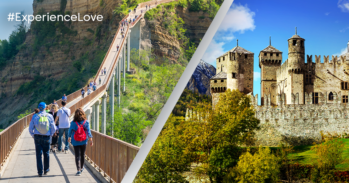 #ExperienceLove - Create your own fairy tail in a Medieval castle in Italy