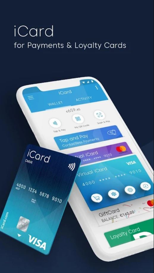iCard Wallet and card