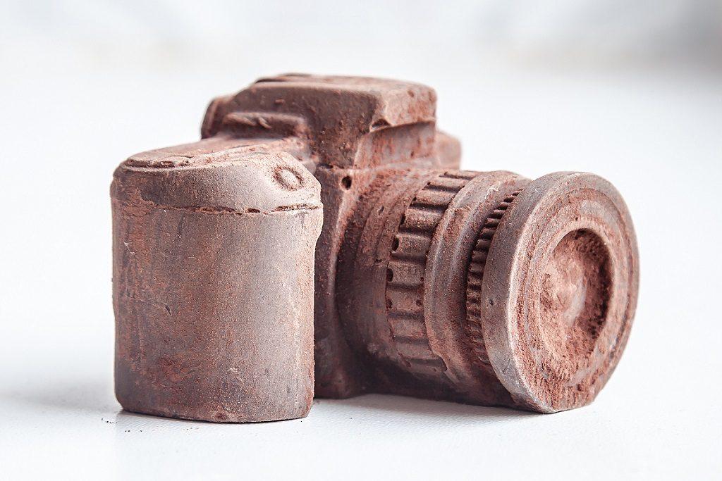 шоколадов фотоапарат
