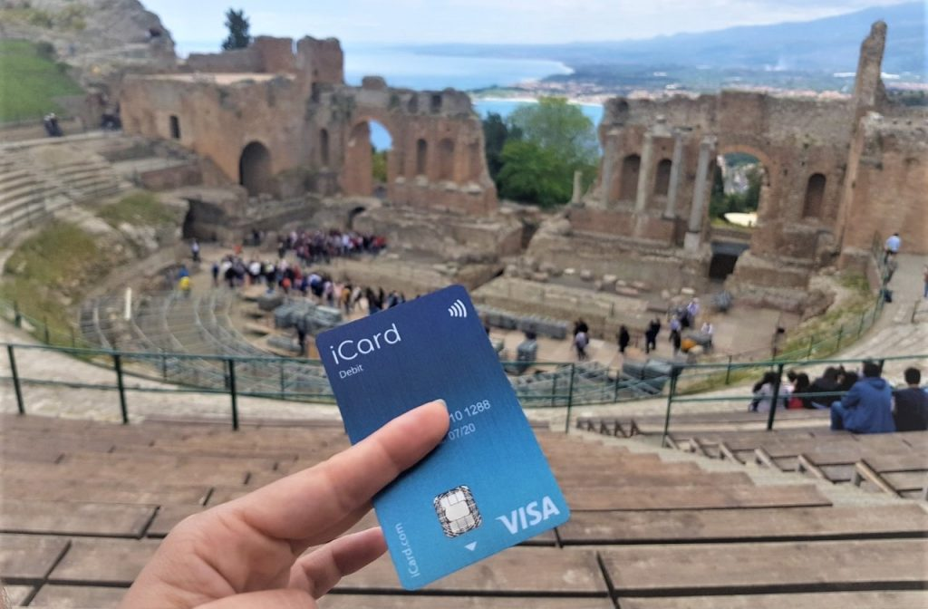 Pay with iCard debit around the world