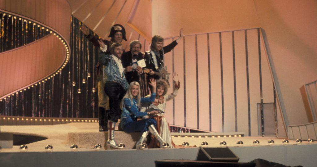 abba at eurovision