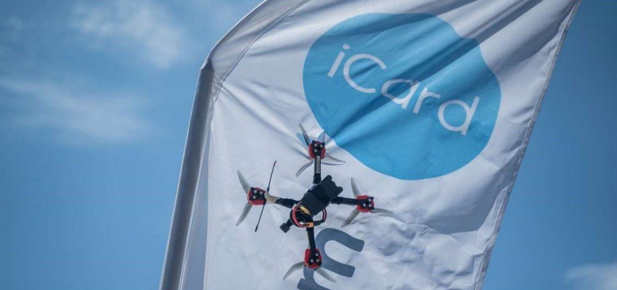 състезание с дронове