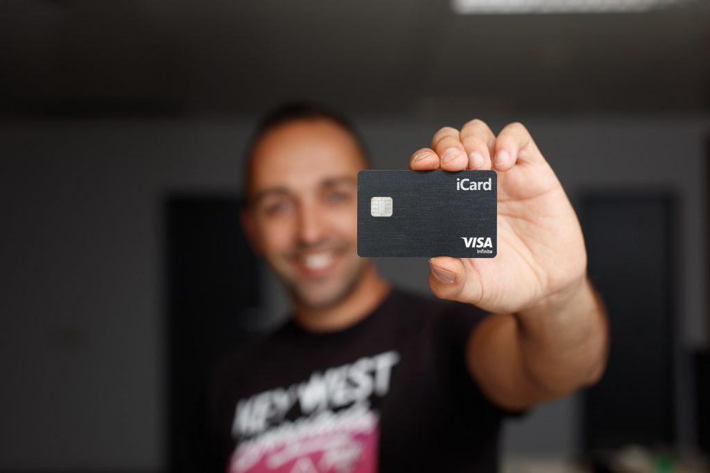iCard Metal Debit Card