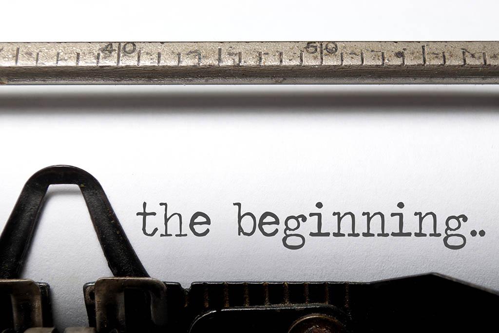 Typing machine - Beginning