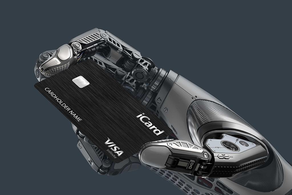 Robotic arm - iCard Metal