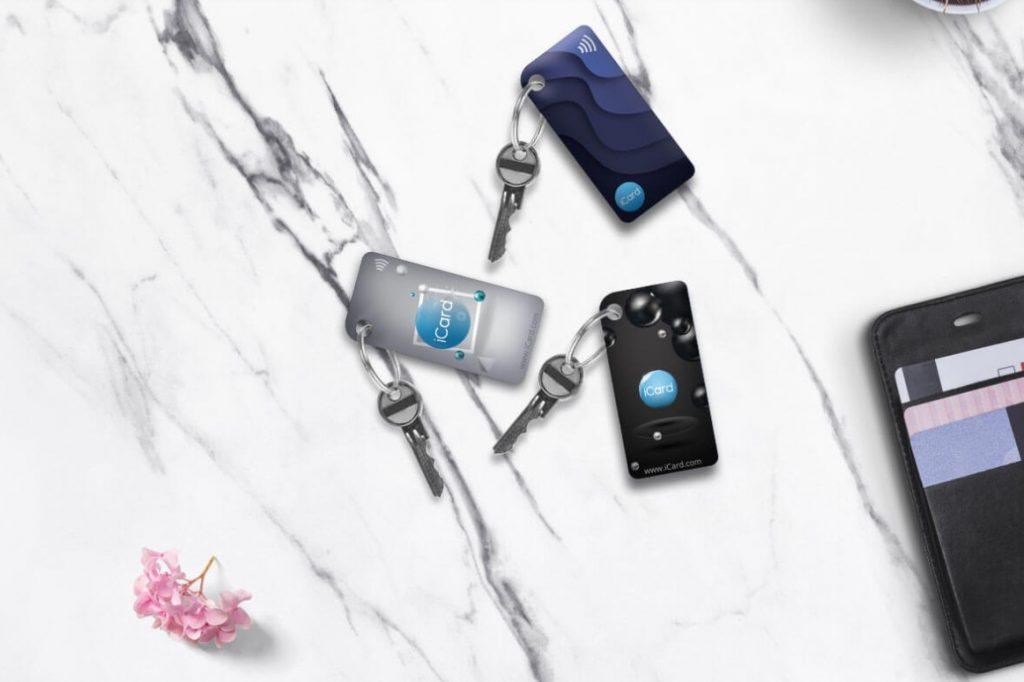iCard NFC Keychain.
