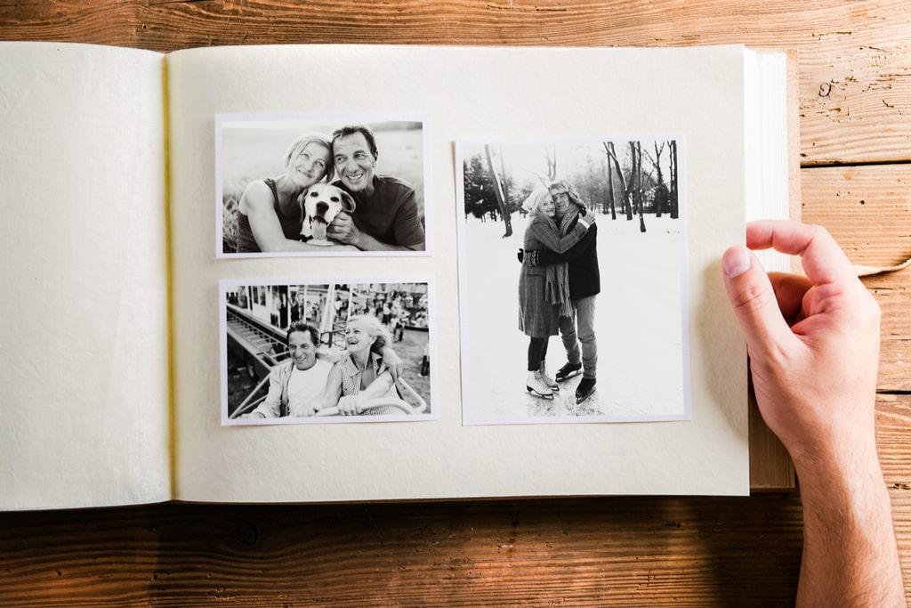 Photo album.