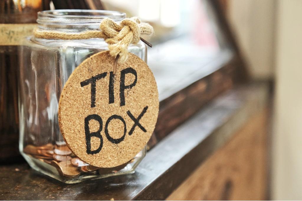A Tip box